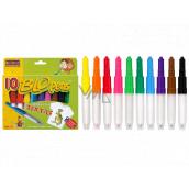 BLO pens Foukací fixy na textil 10 kusů