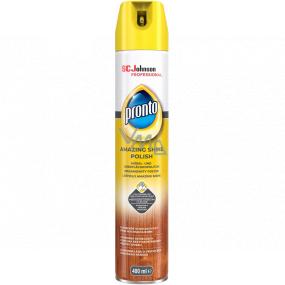 Pronto Amazing Shine Polish sprej proti prachu, leštěnka na dřevo 400 ml