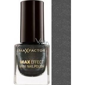 Max Factor Max Effect Mini Nail Polish lak na nehty 20 Silver 4,5 ml