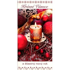 Nekupto Krásné Vánoce Přání k Vánocům svíčka