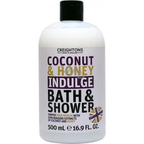 Creightons Kokos & Med sprchový gel a pěna 500 ml