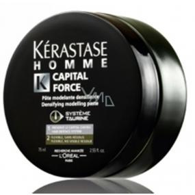 Kérastase Homme Capital Force Densifying Modelling Paste modelovací pasta pro muže 75 ml