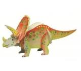 Dřevěné puzzle dinosauři 4 Triceraptos 20 x 15 cm