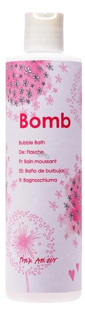 Bomb Cosmetics Pink Amour Přírodní, ručně vyrobena koupelová pěna 300 ml