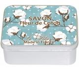 Le Blanc Bavlna - Fleur De Coton přírodní mýdlo tuhé v krabičce 100 g