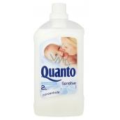 Quanto Sensitive koncentrovaná aviváž prostředek na zjemnění prádla a snadné žehlení 2 l