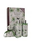 Bohemia Gifts Botanica Konopný olej sprchový gel 200 + šampon na vlasy 200 ml + toaletní mýdlo 100 g, kniha kosmetická sada