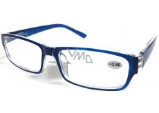 Berkeley Čtecí dioptrické brýle +2,5 plast tmavě modré 1 kus MC2062