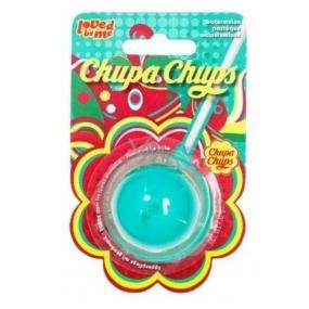 Lip Smacker Chupa Chups Vodní meloun balzám na rty kulatý 7 g