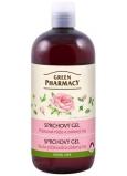 Green Pharmacy Pižmová růže a zelený čaj sprchový gel 500 ml