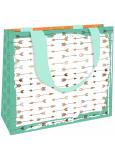 Nekupto Dárková papírová taška střední 23 x 17,5 x 10 cm Šípy 1857 LFM