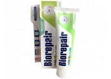 Biorepair Junior Zubní pasta s mentolovou příchutí pro děti 6-12 let 75 ml