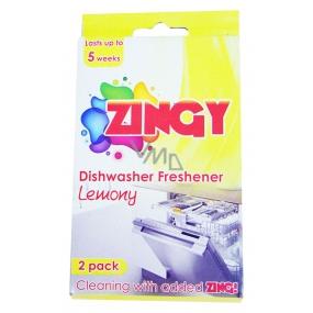 Zingy vůně do myčky (1 balení = 2 kusy)