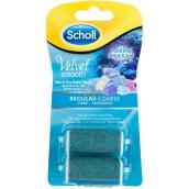 Scholl Velvet Smooth Regular Coarse středně drsné s mořskými minerály náhradní hlavice do elektrického pilníku 2 kusy