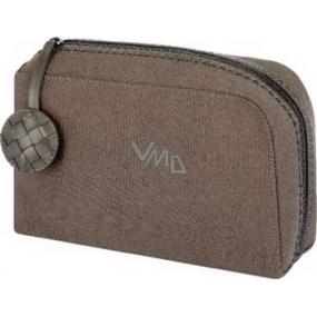 Bottega Veneta Toiletry Case kosmetická taštička hnědá 20 x 16 x 7 cm 1 kus