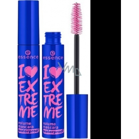 Essence I Love Extreme Volume Waterproof Mascara řasenka Black 12 ml