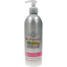 Ma Provence Bio Jarní růže 3v1 pěna do koupele, sprchový gel a šampon 500 ml