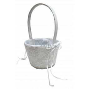 Albi Svatební košík pro družičku na konfety