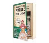 Bohemia Gifts & Cosmetics Pivrnec Extrakt z pivních kvasnic a chmele sprchový gel 200 ml + vlasový šampon 200 ml kniha kosmetická sada