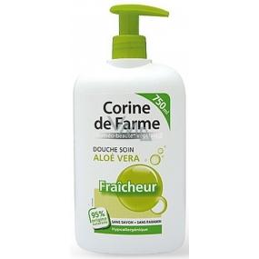 Corine de Farme Aloe Vera sprchový gel s dávkovačem 750 ml