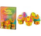 Sada k dekorování vajíček Vajíčka v košíčku