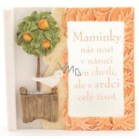 Albi Romantická zahrada Čtvercová svíčka 01 Báječná maminka