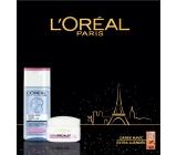 Loreal Paris Triple Active Hydra Specialist denní krém 50 ml + micelární voda 200 ml + Smooth Sugars Scrub glow peeling 4 ml, kosmetická sada
