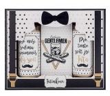 Bohemia Gifts & Cosmetics Pro tatínka - Gentleman sprchový gel 100 ml + šampon 100 ml + sůl do koupele 110 g, kosmetická sada