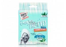 Dirty Works Easy On The Eyes maska na oči a oční okolí 10 x 8 ml