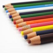 Uni Mitsubishi Dermatograph Průmyslová popisovací tužka pro různé typy povrchů Žlutá 1 kus