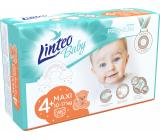 Linteo Baby Premium 4+ Maxi 10 - 17 kg jednorázové plenky 46 kusů