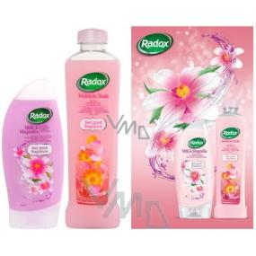 Radox Romantická sprchový gel 250 ml + koupelová pěna 500 ml, kosmetická sada