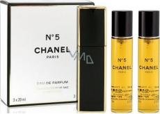 Chanel No.5 parfémovaná voda komplet pro ženy 3 x 20 ml