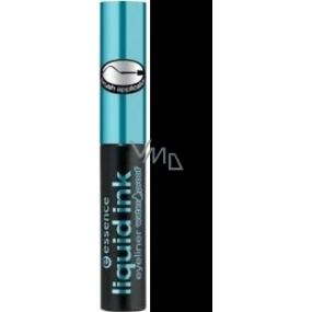 Essence Liquid Ink Eyeliner Waterproof oční linky odstín černá 3 ml