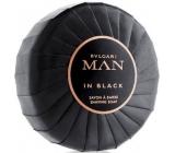 Bvlgari Man In Black mýdlo na holení 100 ml