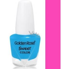 Golden Rose Sweet Color mini lak na nehty 55 5,5 ml