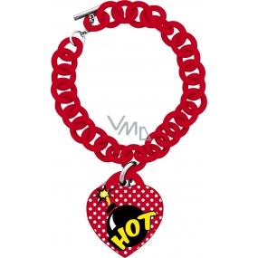 Ops! Objects POP Bracelet náramek OPSBR-270 červená