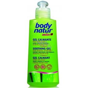 Body Natur Sensitive Soothing Gel podepilační zklidňující gel 200 ml