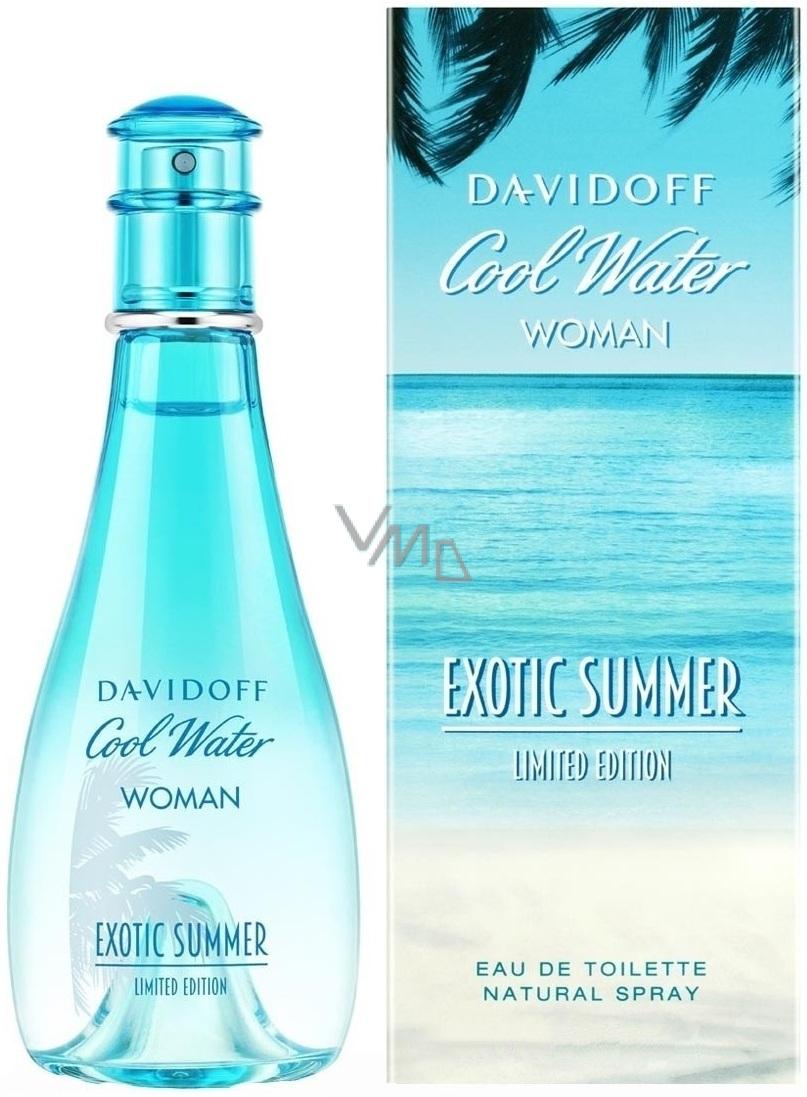 Davidoff Cool Water Exotic Summer Woman toaletní voda 100 ml