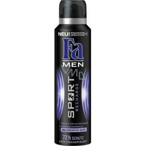 Fa Men Sport Recharge antiperspirant deodorant sprej pro muže 150 ml