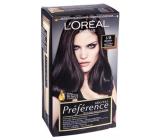 Loreal Paris Préférence Récital barva na vlasy 3/B brasilia tmavě hnědá