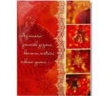 Albi Hrací přání do obálky Až vánoční zvoneček zazvoní Karel Gott a Darina Rolincová Zvonky štěstí