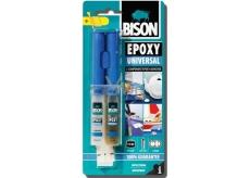 Bison Epoxy Universal Vysokopevnostní dvousložkové epoxidové lepidlo se zpracovatelností 90 minut 24 ml