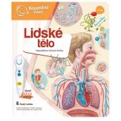 Albi Kouzelné čtení interaktivní mluvící kniha Lidské tělo