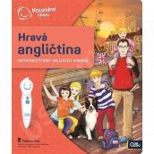 Albi Kouzelné čtení interaktivní mluvící kniha Hravá angličtina, věk 6+