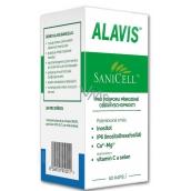 Alavis Sanicell veterinární přípravek pro psy a kočky na posílení imunity, regenerace jater a pro podporu léčby nádorů 60 tablet