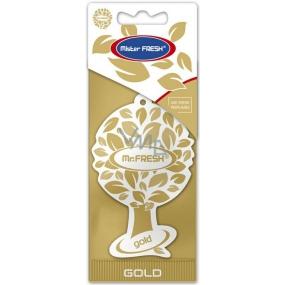 Mister Fresh Car Parfume Gold osvěžovač vzduchu závěsný 1 kus