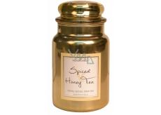 Village Candle Čaj s medem a kořením - Spiced Honey Tea vonná svíčka ve skle 2 knoty 602 g