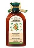 Green Pharmacy Lipové květy a Olej z rakitníku kondicionér pro suché a poškozené vlasy 300 ml