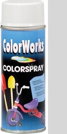 Color Works Colorspray 918516C stříbrný lesklý akrylový lak 400 ml
